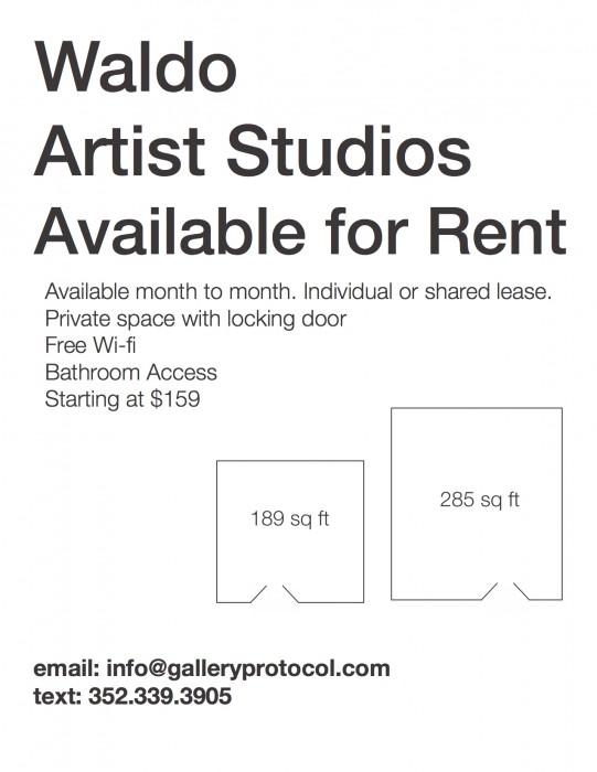 Waldo Artist Studios Flyer